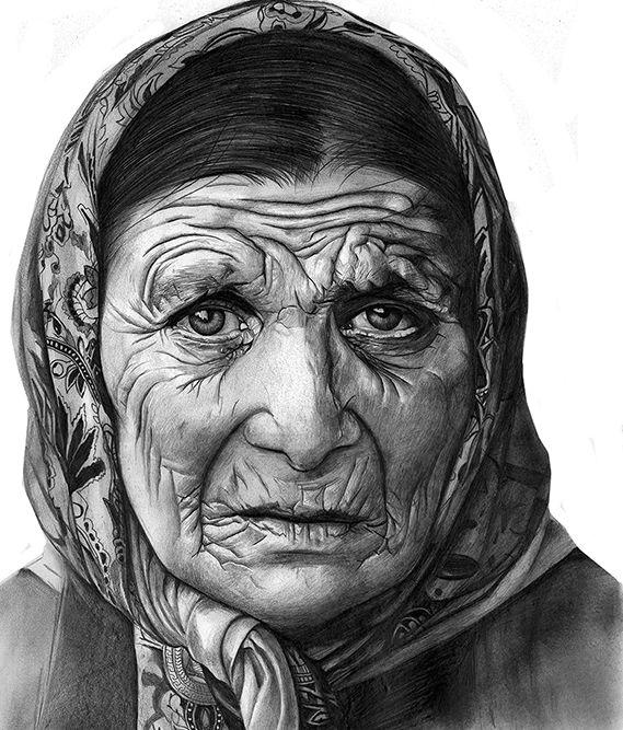 процесс картинки на тему старушка снял поводок, предварительно