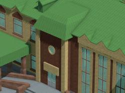 Модель автовокзала в г.Клин
