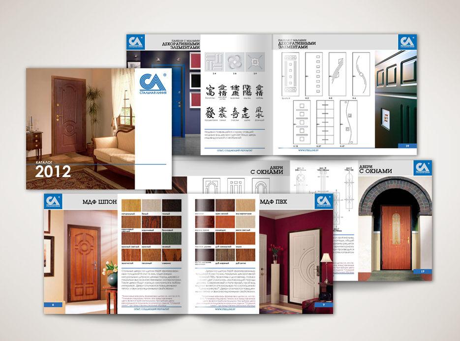 каталоги металлических дверей