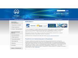 Сайт ЗАО «МЭЛЗ-Инвест» на основе 1С-Битрикс