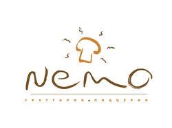 Логотип для пиццерии «Nemo»