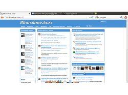 Сайт открытой или закрытой социальной сети
