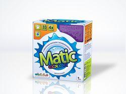 Дизайн упаковки стирального порошка