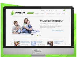Дизайн сайта для фармацевтической компании