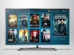 Дизайн приложения для ip-tv приставки