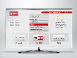 Редизайн интерфейса МТС для IPTV приставки