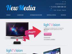 Дизайн сайта для NewMedia