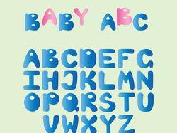 Мультяшный алфавит