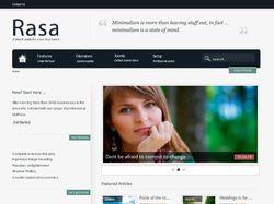Установка CMS Joomla и редактирование шаблона RASA