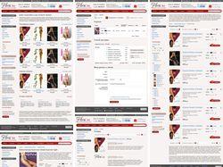 Дизайн интернет-магазина колготок и нижнего белья