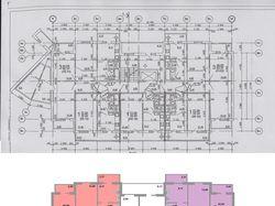 Перерисовка планов этажей