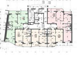 Перерисовка планов этажей 2