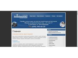 Сайт професиональной Эксперт компании