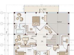 Разработка и прорисовка для сайта планировки