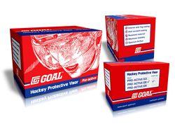 Коробка для визора хоккеиста