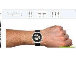 Онлайн-примерочная для магазина часов