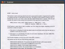 Программа для сканирования документов под Linux