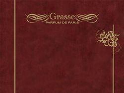 """титульная страница буклета """"Grasse"""""""
