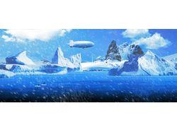 Иллюстрация Арктика