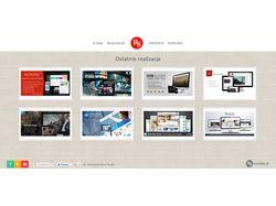 Дизайн и верстка собственного сайта