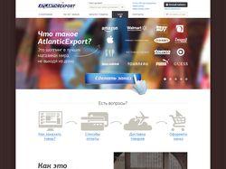 Сайт для atlantic.uz