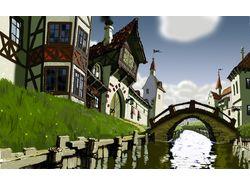 Иллюстрация моста