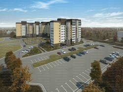 Осенняя визуалиазация жилого комплекса