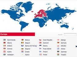 Интерактивная карта представительств