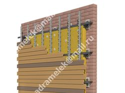 3Д-схема утепления стен