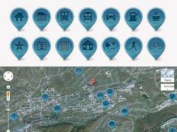 Иконки (маркеры) для карты