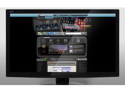 Сайт для мобильных устройств NOKIA