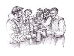 Иллюстрация к рекламной акции пива