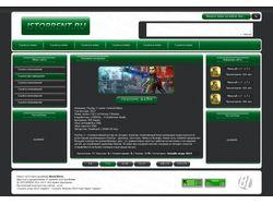 Дизайн для сайта Istorrent.ru