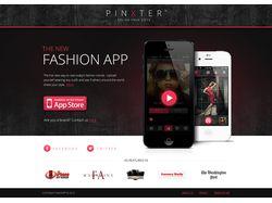 Pinxter App Website