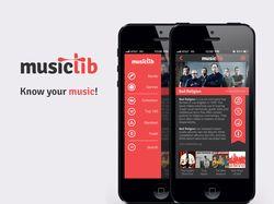 Musiclib (персональный проект)