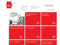 Подключение верстки к WordPress для atis-sc.ru