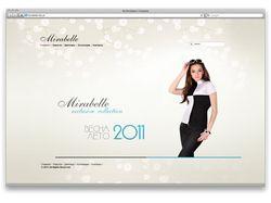 Разработка сайта Мирабель