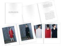 Дизайн и верстка Lookbook FW 13/14 для ELENAREVA
