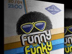 """Афиша (А2) """"Funky"""". 2000 руб., 1 день"""