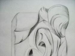 Рисунок: гипсовое ухо