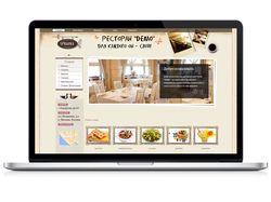 Сайт для ресторана-кафе (продается)