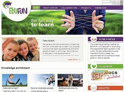 Edufunglobal - корпоративный сайт