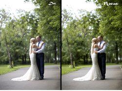 Ретушь и коррекция цвета свадебных фотографий