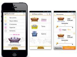 Дизайн приложения интернет-магазина косметики