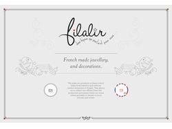 Дизайн сайта «Filalir»