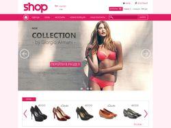 Дизайн интернет магазина