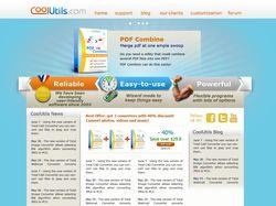 Сайт компании CoolUtils