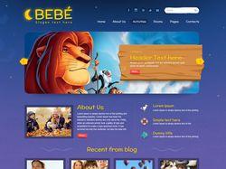 Bebe - WordPress шаблон