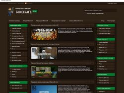 Изготовление и верстка Minecraft тематики