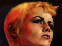 Долорес О'Риордан портрет
